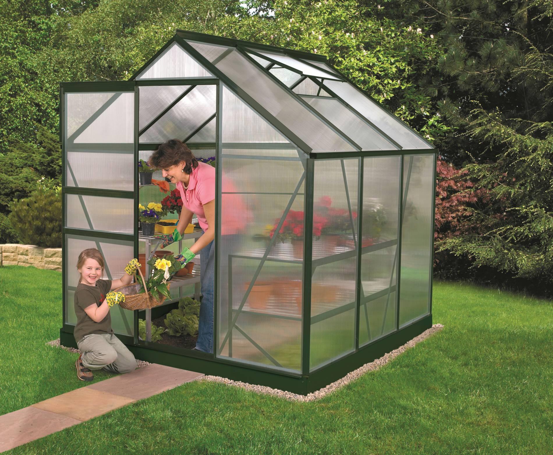 skleník VITAVIA VENUS 3800 PC 4 mm zelený