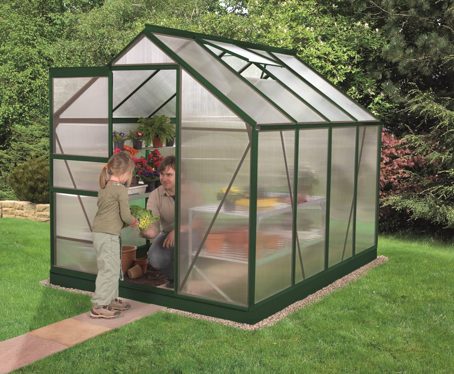 skleník VITAVIA VENUS 5000 PC 4 mm zelený