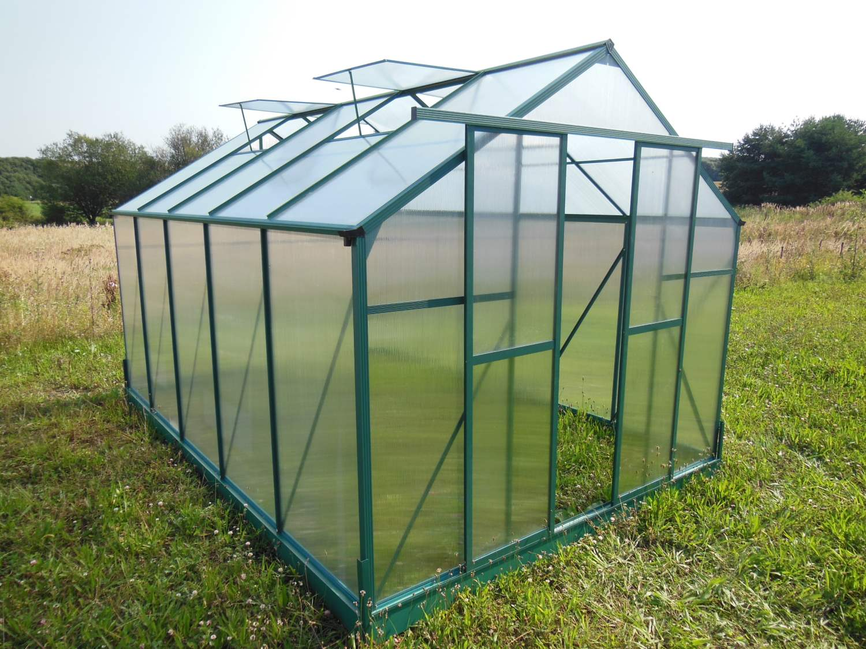 skleník LANITPLAST PLUGIN 8x14 zelený