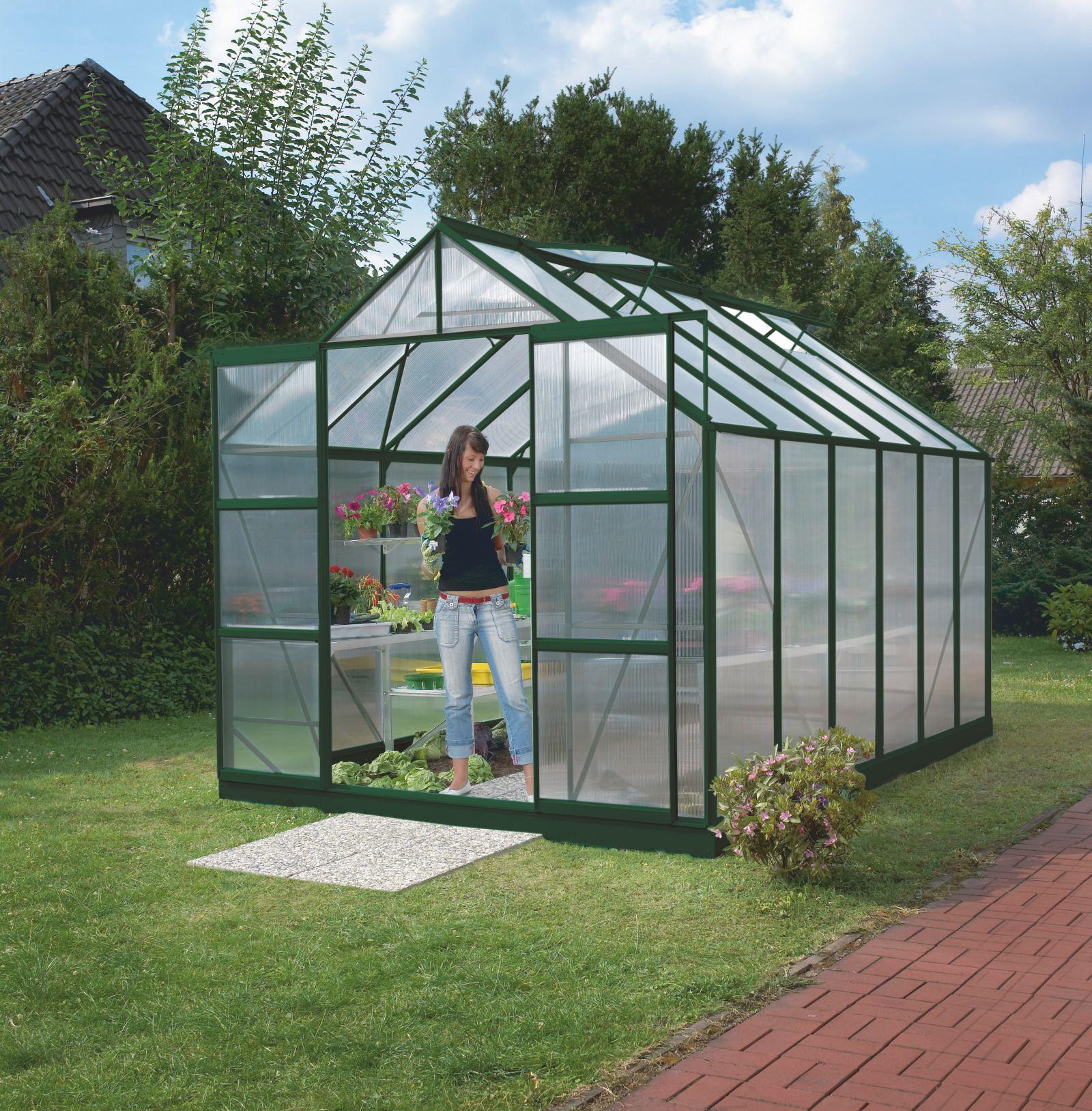 skleník VITAVIA URANUS 9900 PC 4 mm zelený