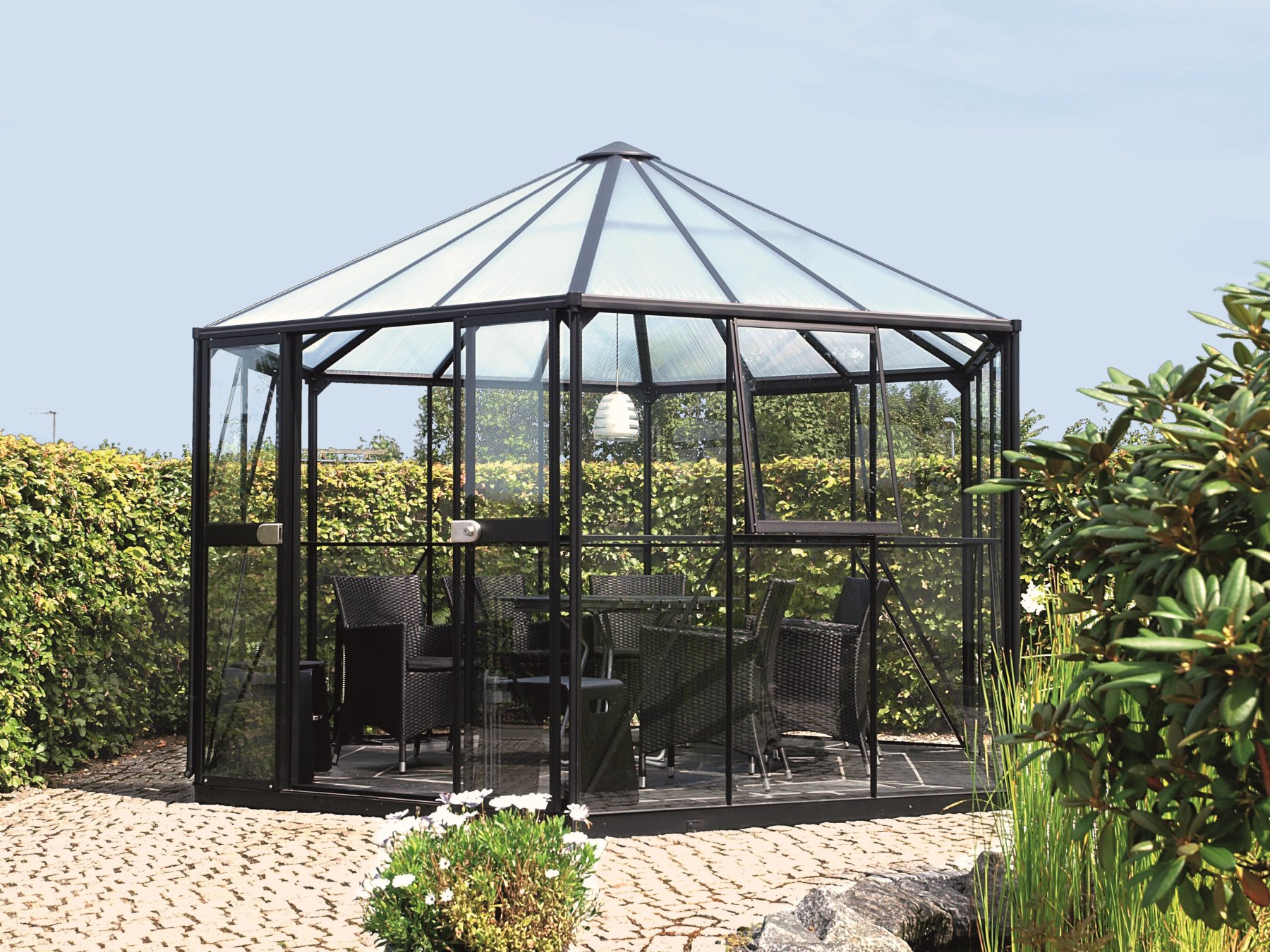 zahradní pavilon VITAVIA HERA 9000 černý