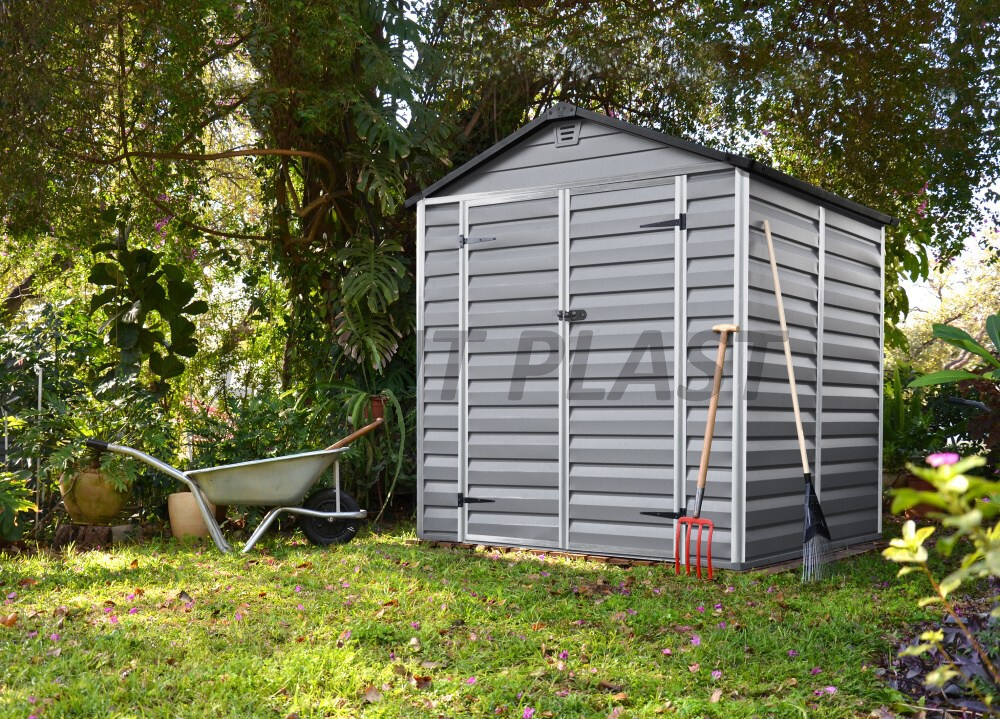 zahradní domek PALRAM SkyLight 6x6 šedý