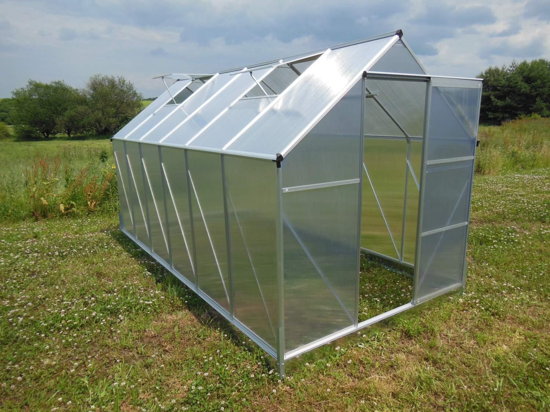 skleník LANITPLAST PLUGIN NEW 6x8 BASIC