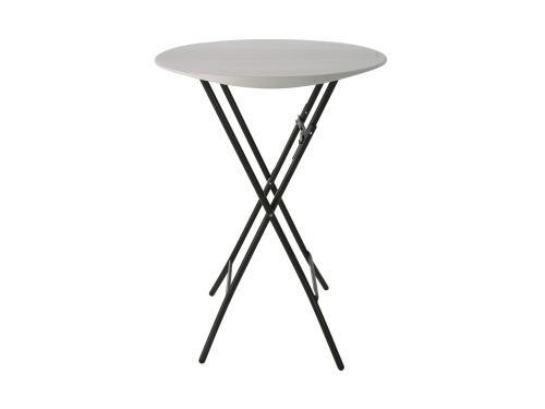 barový kulatý stůl 83 cm LIFETIME 80362