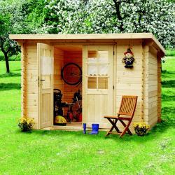 zahradní domek LANITPLAST HANNA 300 x 200 cm