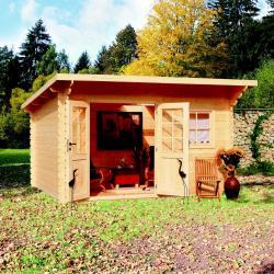 zahradní domek LANITPLAST JESSICA 2 398 x 300 cm