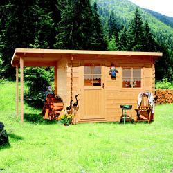 zahradní domek LANITPLAST JULIA 1 453 x 250 cm