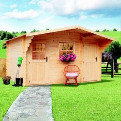 zahradní domek LANITPLAST ALEŠ 398 x 398 cm