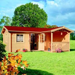zahradní domek LANITPLAST LIVIA 599 x 587 cm