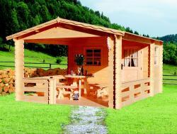 zahradní domek LANITPLAST JELA 372 x 476 cm