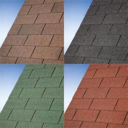 střešní šindel zelený LANITPLAST ZINA 394 x 553 cm