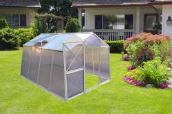 skleník LANITPLAST DODO BIG 8x10 PC 4 mm šedý