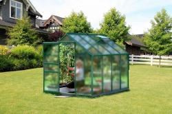 skleník VITAVIA VENUS 5000 matné sklo 4 mm zelený