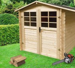 dřevěný domek SOLID RAFAEL 218 x 200 cm