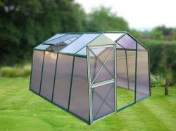 skleník LANITPLAST DODO 8x10 - DÁRKY PC 4 mm zelený
