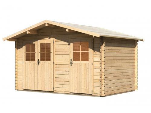 dřevěný domek KARIBU RADUR 0 (58395) natur