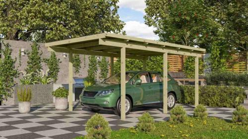 carport KARIBU ECO 1A 62023