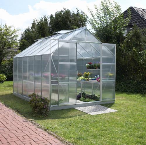 skleník VITAVIA URANUS 9900 PC 6 mm stříbrný