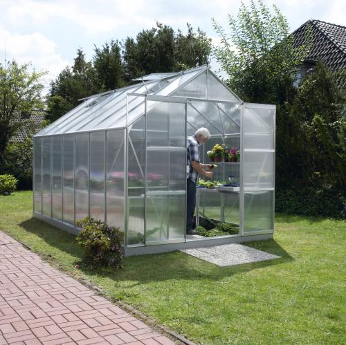 skleník VITAVIA URANUS 11500 PC 6 mm stříbrný