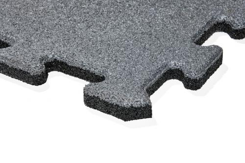 gumová dlažba LANITPLAST FUNDUS PUZZLE P25 šedá