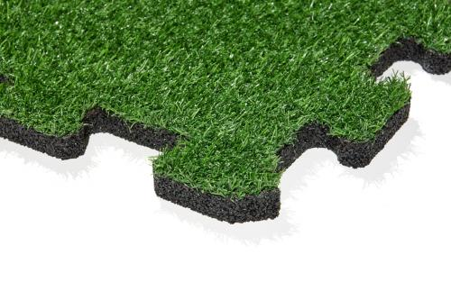 gumová dlažba LANITPLAST FUNDUS PUZZLE P25 umělá tráva