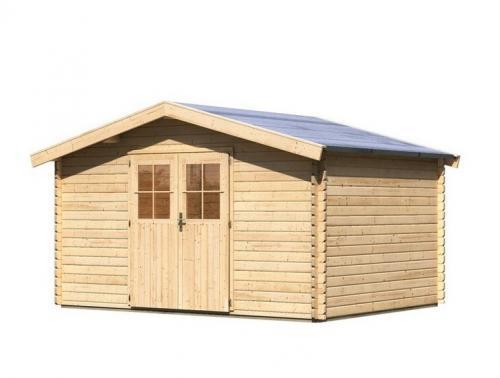 dřevěný domek KARIBU MÜLHEIM 5 (88597) natur