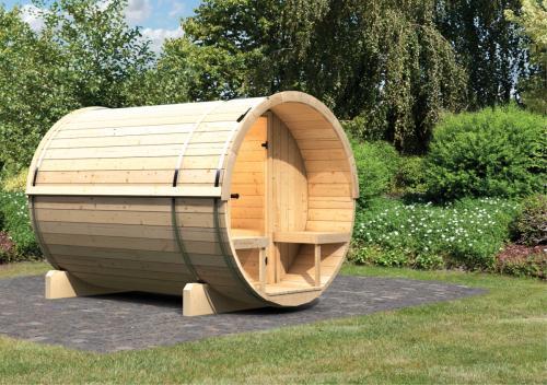 finská sauna KARIBU FASSAUNA 2 (66851)
