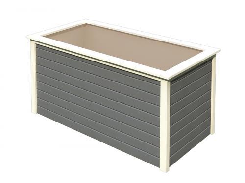 vyvýšený záhon KARIBU HOCHBEET 192 (64571) terragrau