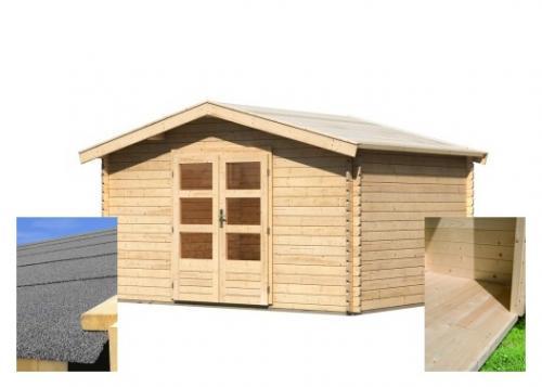 dřevěný domek KARIBU BAYREUTH 5 (14525) SET