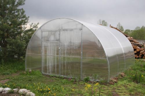 skleník LANITPLAST URAL 4x4 m PC 8 mm
