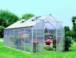 skleník LANITPLAST PLUGIN 8x14 stříbrný