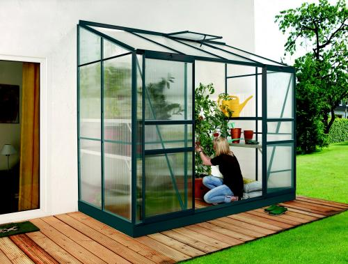 skleník VITAVIA IDA 3300 PC 6 mm zelený