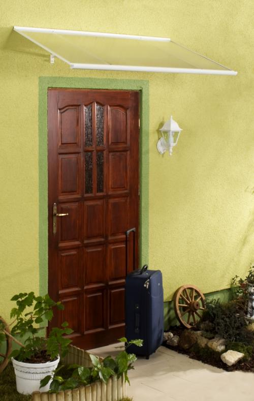 stříška nad dveře LANITPLAST MELES 120/85 bílá