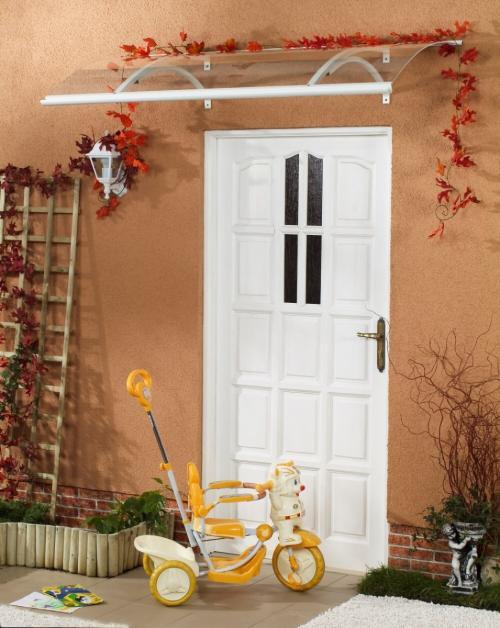 stříška nad dveře LANITPLAST OLOR 160/87 bílá