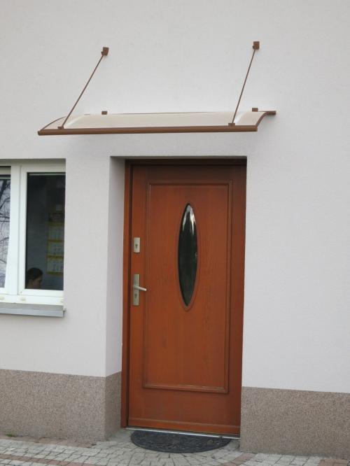 stříška nad dveře LANITPLAST TURKUS 140/85 hnědá