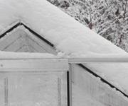 skleník Natur v zimě