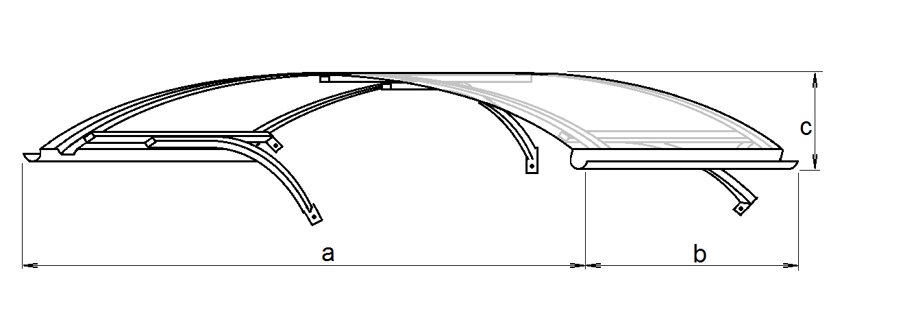 drawing of a Leo roof